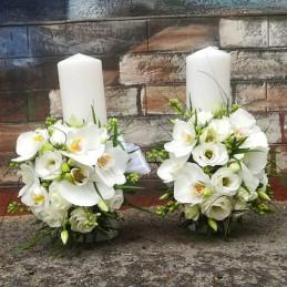 Lumanari nunta orhidee si...